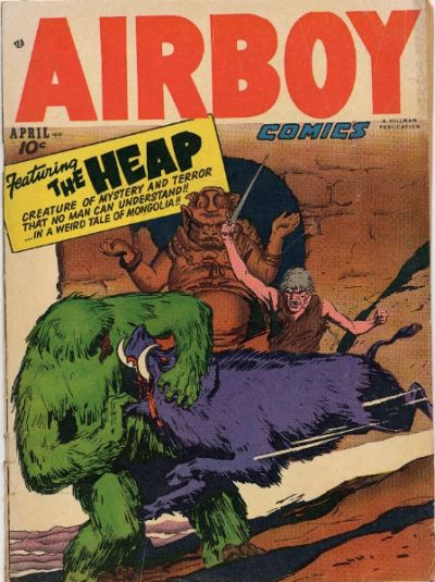 Cover for Airboy Comics (Hillman, 1945 series) #v9#3 [98]