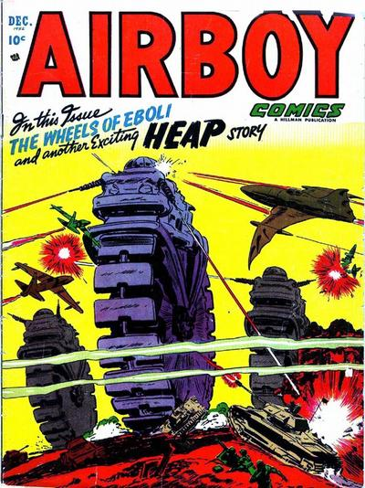 Cover for Airboy Comics (Hillman, 1945 series) #v9#11 [106]