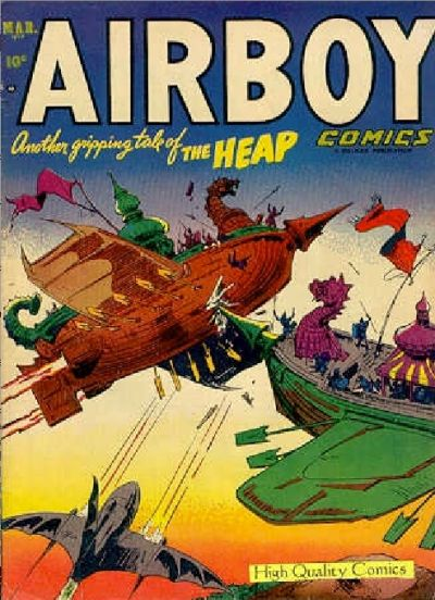 Cover for Airboy Comics (1945 series) #v10#2 [109]