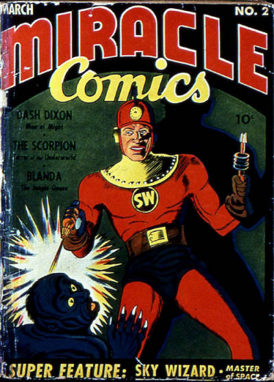 Cover for Miracle Comics (1940 series) #2