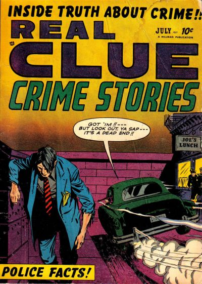 Cover for Real Clue Crime Stories (Hillman, 1947 series) #v6#5 [65]