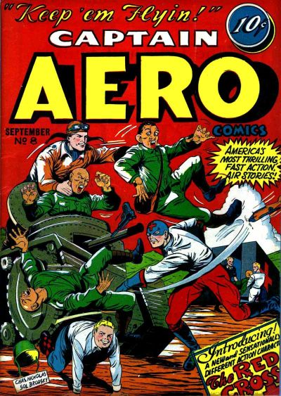 Cover for Captain Aero Comics (1942 series) #v2#2 (8)