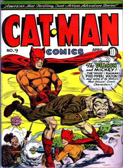 Cover for Cat-Man Comics (1942 series) #v2#14 (9)