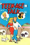 Cover for Teen-Age Talk (I. W. Publishing; Super Comics, 1958 series) #5