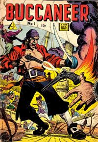 Cover Thumbnail for Buccaneer (I. W. Publishing; Super Comics, 1958 series) #1