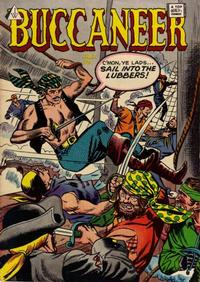 Cover Thumbnail for Buccaneer (I. W. Publishing; Super Comics, 1958 series) #8