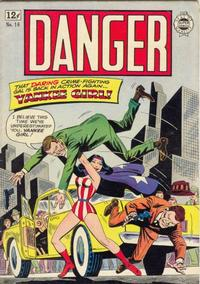 Cover Thumbnail for Danger (I. W. Publishing; Super Comics, 1963 series) #16