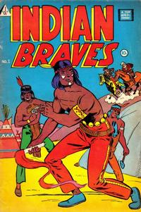 Cover Thumbnail for Indian Braves (I. W. Publishing; Super Comics, 1958 series) #1
