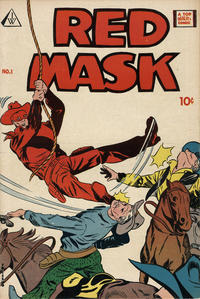 Cover Thumbnail for Red Mask (I. W. Publishing; Super Comics, 1958 series) #1