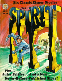Cover Thumbnail for The Spirit (Kitchen Sink Press, 1977 series) #18