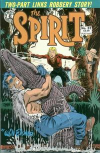 Cover Thumbnail for The Spirit (Kitchen Sink Press, 1983 series) #57