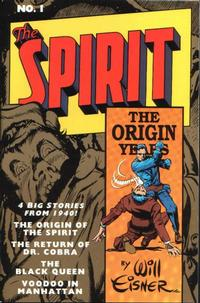 Cover Thumbnail for Spirit: The Origin Years (Kitchen Sink Press, 1992 series) #1
