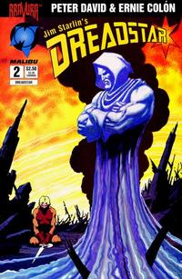 Cover Thumbnail for Dreadstar (Malibu, 1994 series) #2