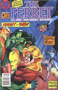 Cover Thumbnail for The Ferret (Malibu, 1993 series) #4