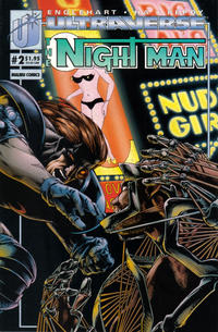 Cover Thumbnail for The Night Man (Malibu, 1993 series) #2