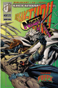 Cover Thumbnail for The Night Man (Malibu, 1993 series) #3