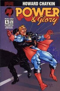Cover Thumbnail for Power & Glory (Malibu, 1994 series) #4
