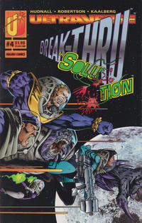 Cover Thumbnail for The Solution (Malibu, 1993 series) #4