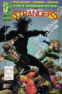 Cover Thumbnail for The Strangers (Malibu, 1993 series) #6 [Direct Edition]