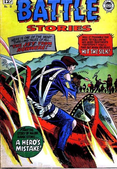 Cover for Battle Stories (I. W. Publishing; Super Comics, 1963 series) #18