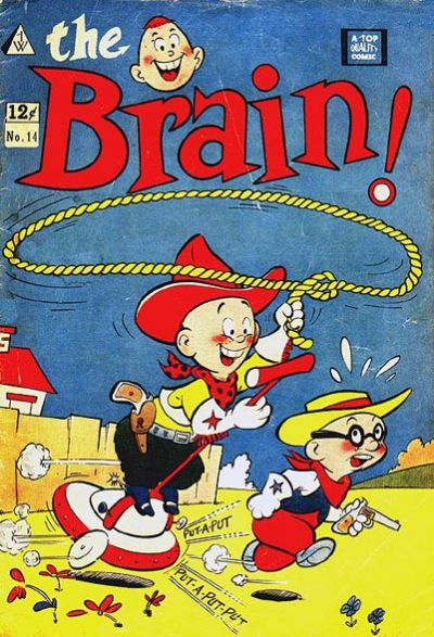 Cover for The Brain (1958 series) #14