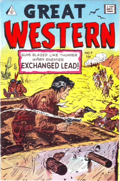 Cover for Great Western (I. W. Publishing; Super Comics, 1958 series) #9