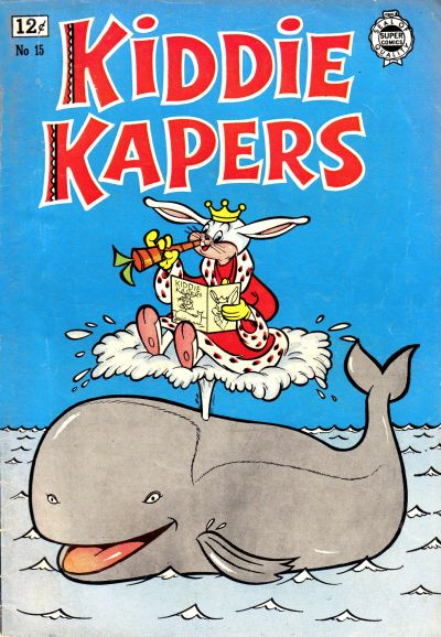 Cover for Kiddie Kapers (I. W. Publishing; Super Comics, 1963 series) #15