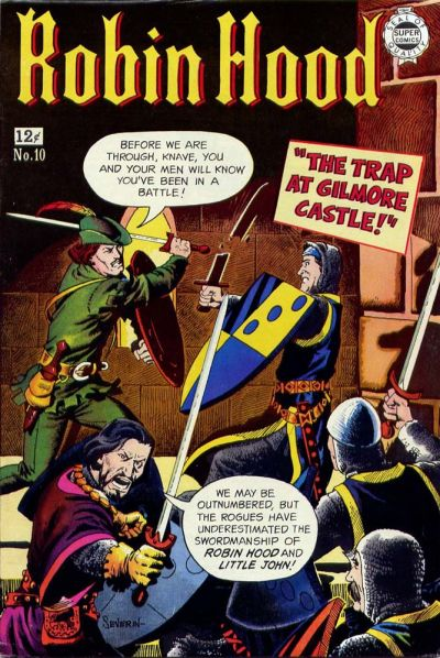 Cover for Robin Hood (I. W. Publishing; Super Comics, 1958 series) #10