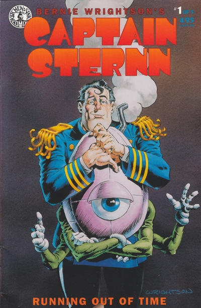Cover for Captain Sternn: Running Out of Time (Kitchen Sink Press, 1993 series) #1