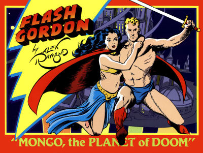 Cover for Flash Gordon (1990 series) #1 - Mongo, the Planet of Doom