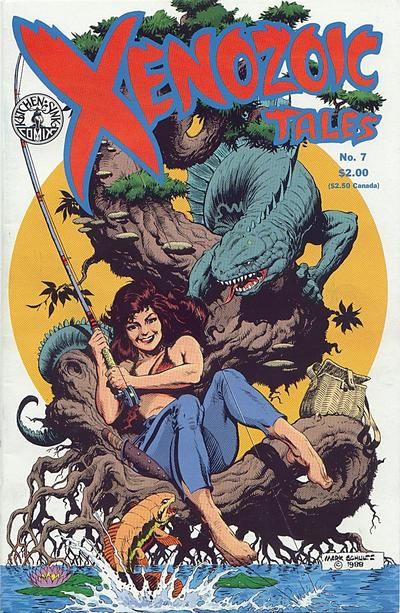 Cover for Xenozoic Tales (1987 series) #7