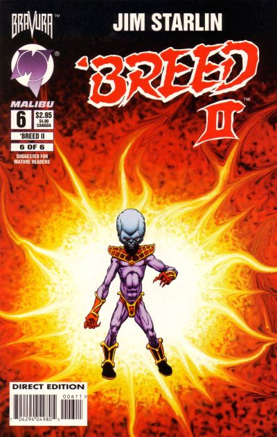 Cover for 'Breed II (Malibu, 1994 series) #6
