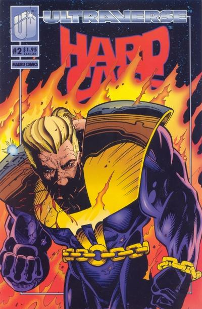 Cover for Hardcase (Malibu, 1993 series) #2