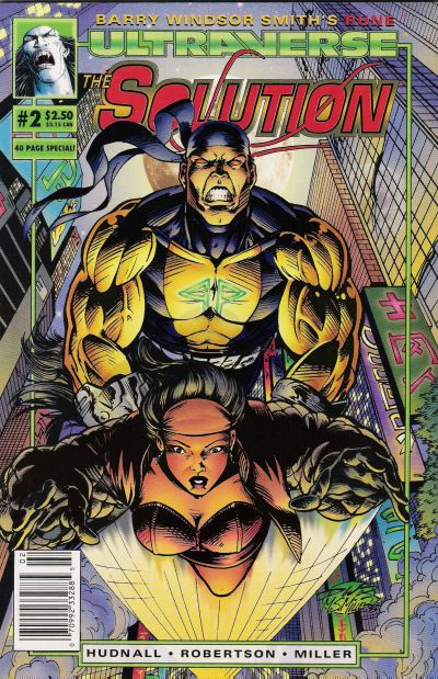 Cover for The Solution (Malibu, 1993 series) #2 [Direct]