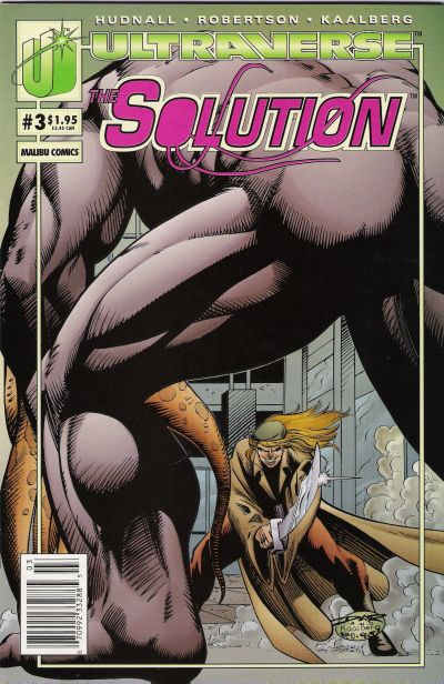 Cover for The Solution (1993 series) #3 [Direct]