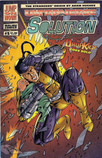 Cover for The Solution (Malibu, 1993 series) #5 [Direct Edition]