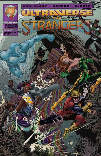 Cover for The Strangers (1993 series) #10