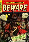 Cover for Beware (Trojan Magazines, 1953 series) #13