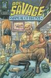 Cover for Doc Savage: Manual of Bronze (Millennium Publications, 1992 series) #1