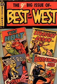 Cover Thumbnail for Best of the West (Magazine Enterprises, 1951 series) #9 [A-1 #85]