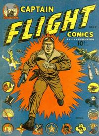 Cover Thumbnail for Captain Flight Comics (Four Star Publications, 1944 series) #2