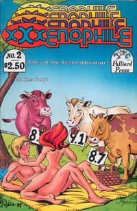 Cover Thumbnail for Xxxenophile (Palliard Press, 1989 series) #2