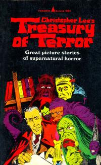 Cover Thumbnail for Christopher Lee's Treasury of Terror (Pyramid Books, 1966 series) #R-1498
