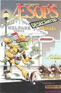Cover Thumbnail for Aesop's Desecrated Morals (Classics Desecrated Special V2#1) (Rip Off Press, 1993 series) #1