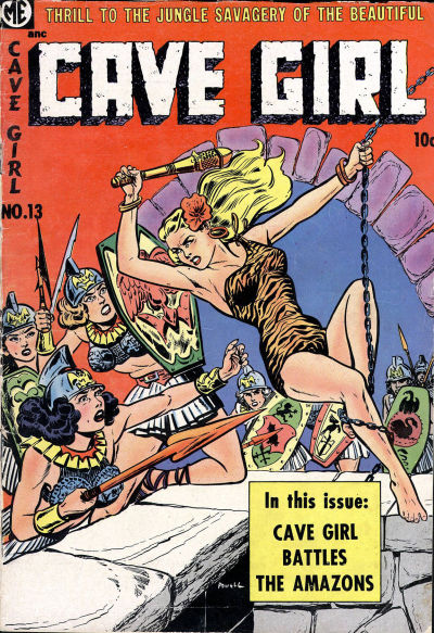 Cover for Cave Girl (Magazine Enterprises, 1953 series) #13 (A-1 #116)