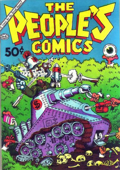 Cover for The People's Comics (Golden Gate Publishing Company, 1972 series)