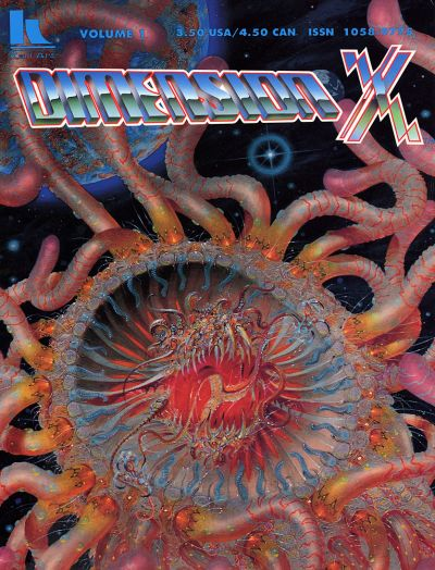 Cover for Dimension X (Karl Art Publishing, 1992 series) #1