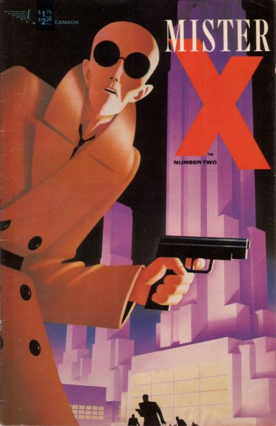 Cover for Mister X (Vortex, 1984 series) #2