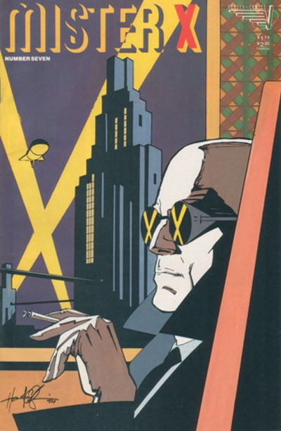 Cover for Mister X (Vortex, 1984 series) #7