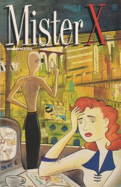 Cover for Mister X (Vortex, 1984 series) #11